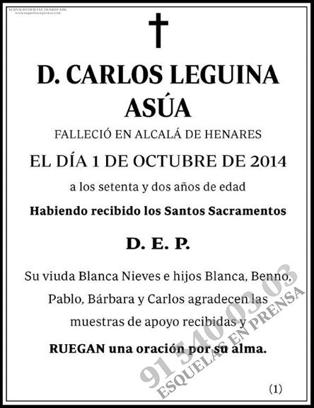 Carlos Leguina Asúa
